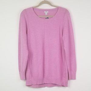 NWT Pink L.L Bean longsleeve sweater